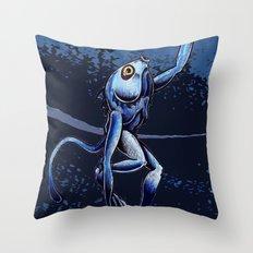 Sea Monkey Throw Pillow