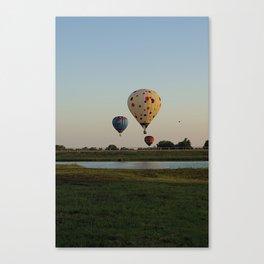 Colorful Hot Air Balloon Canvas Print
