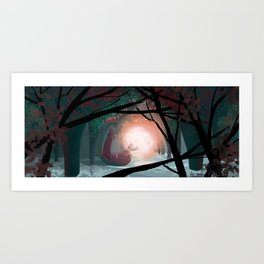 The secret of the Fireflies! Art Print