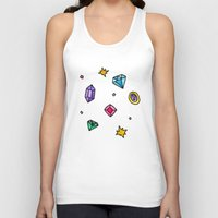 gem Tank Tops featuring Gem by Madi Moon
