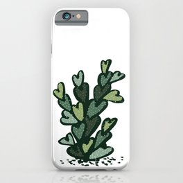 anti valentines cactus iPhone Case