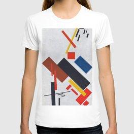 12,000pixel-500dpi - Kazimir Severinovich Malevich - Stroyuschiysya Dom - Digital Remastered T-shirt