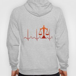 LAWYER HEARTBEAT Hoody