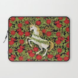 Christmas Unicorn Laptop Sleeve