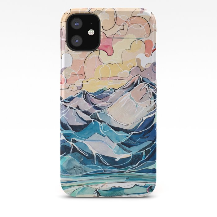 Sunrise, Surf, and Ridgelines iPhone Case