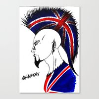 british Canvas Prints featuring british  by Carlos Acuna