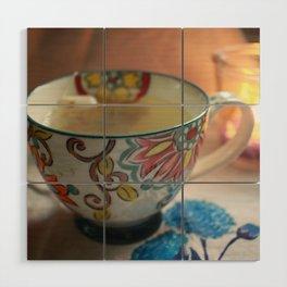 A Cuppa Tea Wood Wall Art