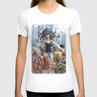 zombies T-shirts featuring ZOMBIES by Maryne.