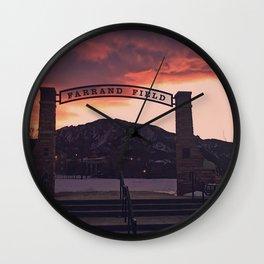Farrand Field Wall Clock