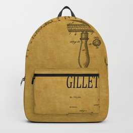Gillette Razor Patent 1 Backpack