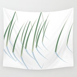 Reeds in Snow Wall Tapestry