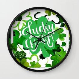 Lucky Charm Wall Clock