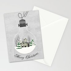 Greeting Card Art: Christmas Greetings Stationery Cards