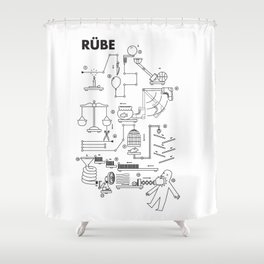 Rube Shower Curtain