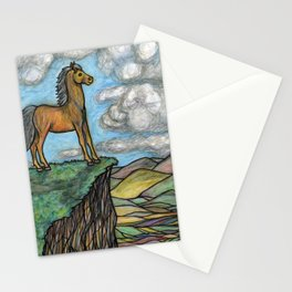 When Nature Notices You're a Little Horse Stationery Cards
