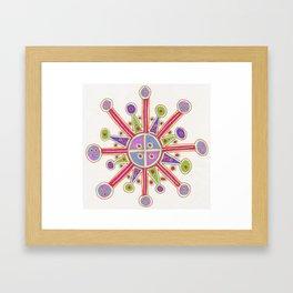 Happy Cross Framed Art Print