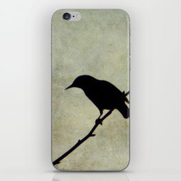 Oh Black Bird iPhone Skin