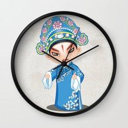Beijing Opera Character LiuMengMei Wall Clock