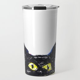 Devil eyes Travel Mug