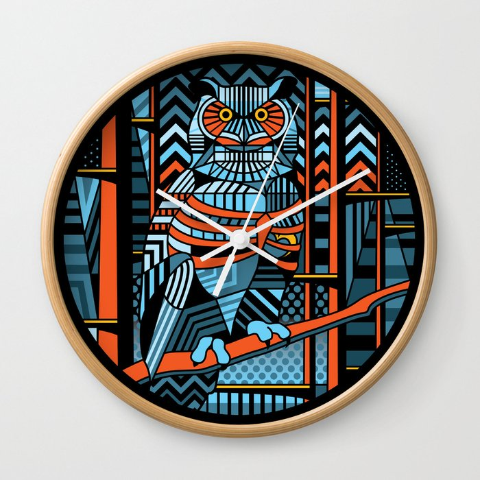 keeper of the forest Wall Clock