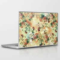 roses Laptop & iPad Skins featuring Roses by RIZA PEKER