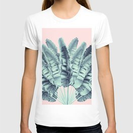 Blush Traveler Tree Dream #1 #tropical #decor #art #society6 T-shirt