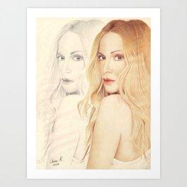 In 2 versions Art Print