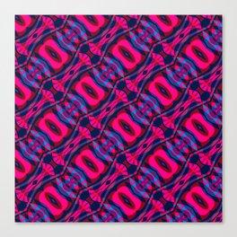 Yonic Pattern Canvas Print