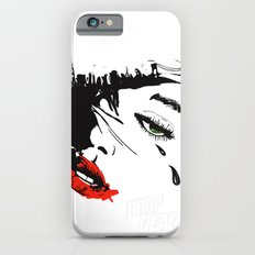 drop dead gorgeous - femme fatale iPhone 6s Slim Case