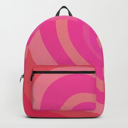 Love Me Like You Do - pink red Backpack