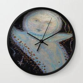 Mr. Moon - Whimsies of Light Children Series Wall Clock