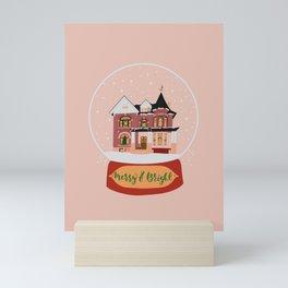 Christmas in Saginaw- Lee Mansion Mini Art Print