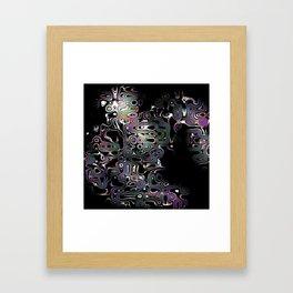 Irregular Abstractions Framed Art Print