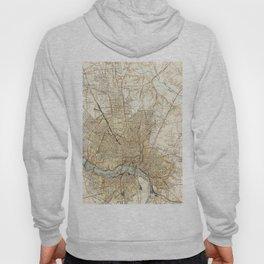 Vintage Map of Richmond Virginia (1934) Hoody