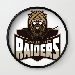 Tusken City Raiders Wall Clock