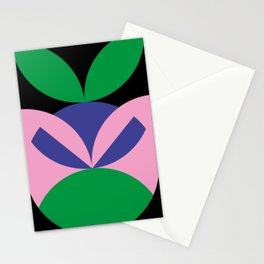 To me, it seems like an angry ninja face with leafes on it's head. Stationery Cards