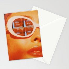 Kiss kiss, bish Stationery Cards