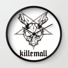 GATODELMAL Wall Clock