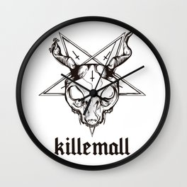 GATODELMAL Wall Clock