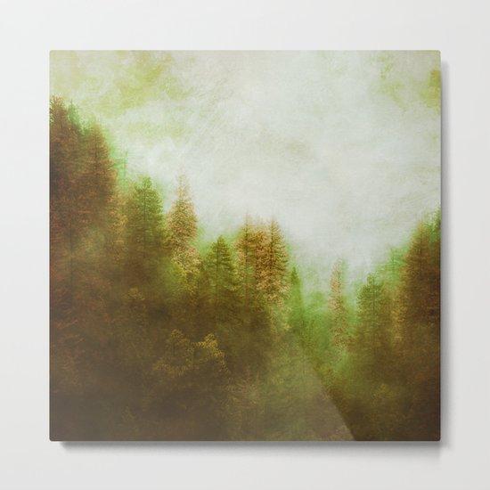 Dreamy Summer Forest Metal Print