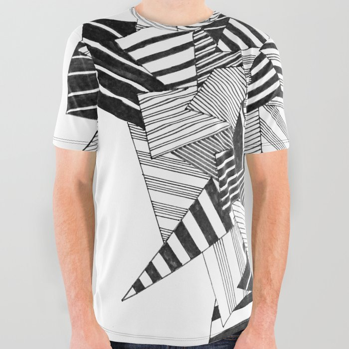 abstract_crystal_All_Over_Graphic_Tee_by_MarionB__Large