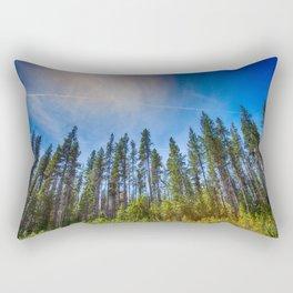 Tall Trees Rectangular Pillow