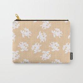 Honeysuckle Bouquet in Georgia Peach Carry-All Pouch