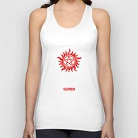 winchester Tank Tops featuring Winchester Brothers by Yiannis