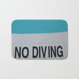 Pool - No Diving Bath Mat
