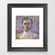 Come the right way Framed Art Print