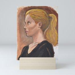Beautiful Girl Mini Art Print