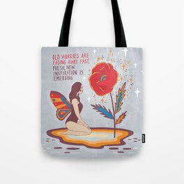New inspiration emerging Tote Bag
