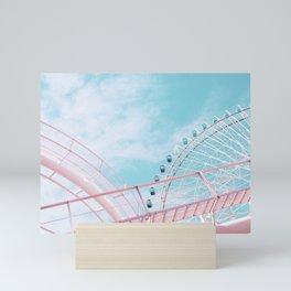 Pastel funfair 2 Mini Art Print