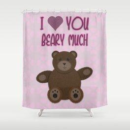 Beary Love Shower Curtain